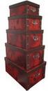 皮革折叠盒